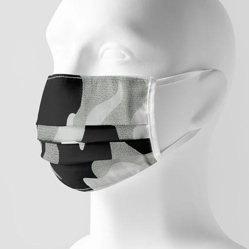 Kit com 100 Máscaras Sociais de algodão sortidas