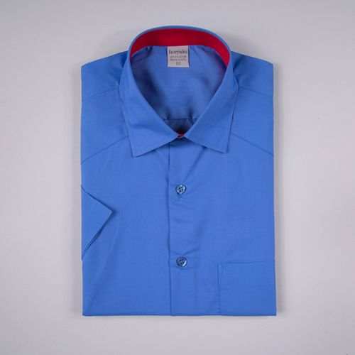 Camisa Casual Algodão Misto