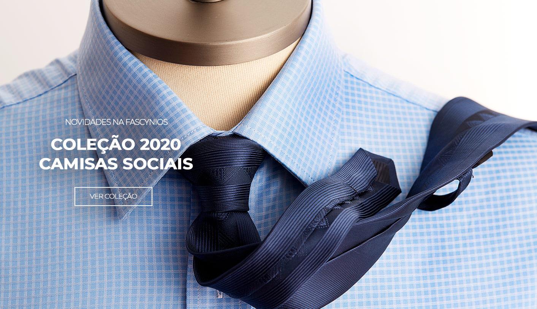 novidades camisas sociais 2020